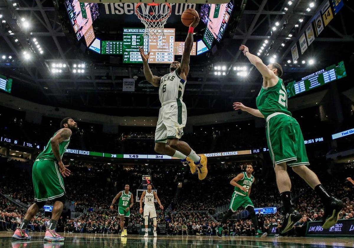 Los Bucks llegaron a los playoffs con la mejor marca de la temporada regular.