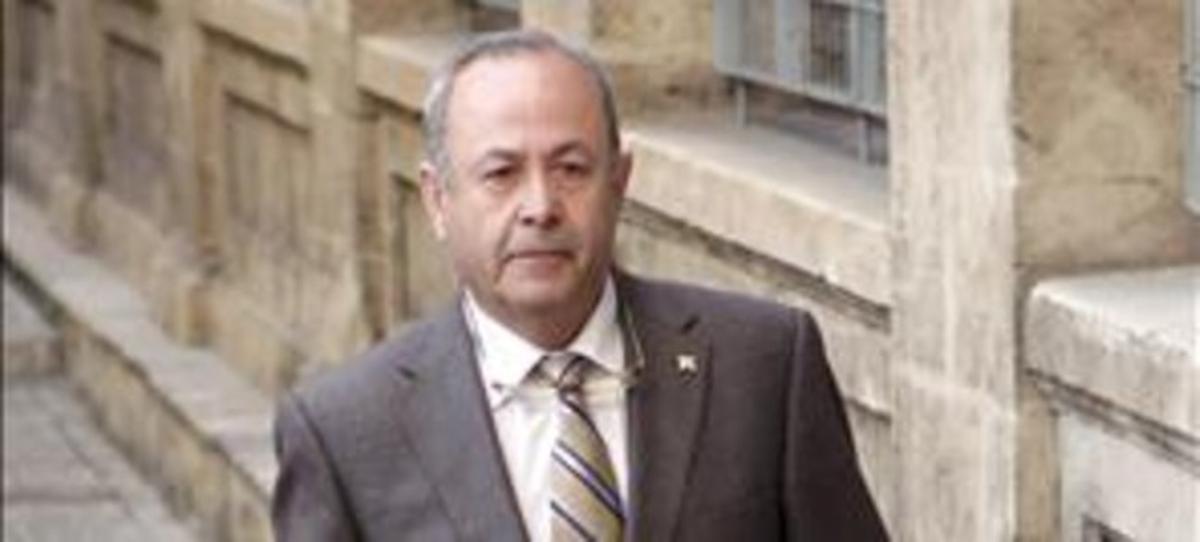El juez José Castro, el pasado febrero, en Palma. EFE / MONTSERRAT T. DÍEZ