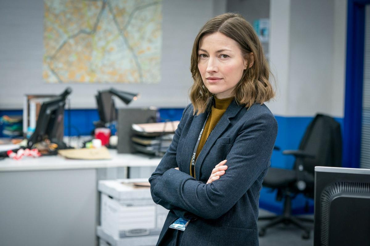 Kelly Macdonald en una imagen promocional de 'Line of duty'.