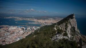 Vista de La Línea de la Concepción desde el Peñón de Gibraltar.
