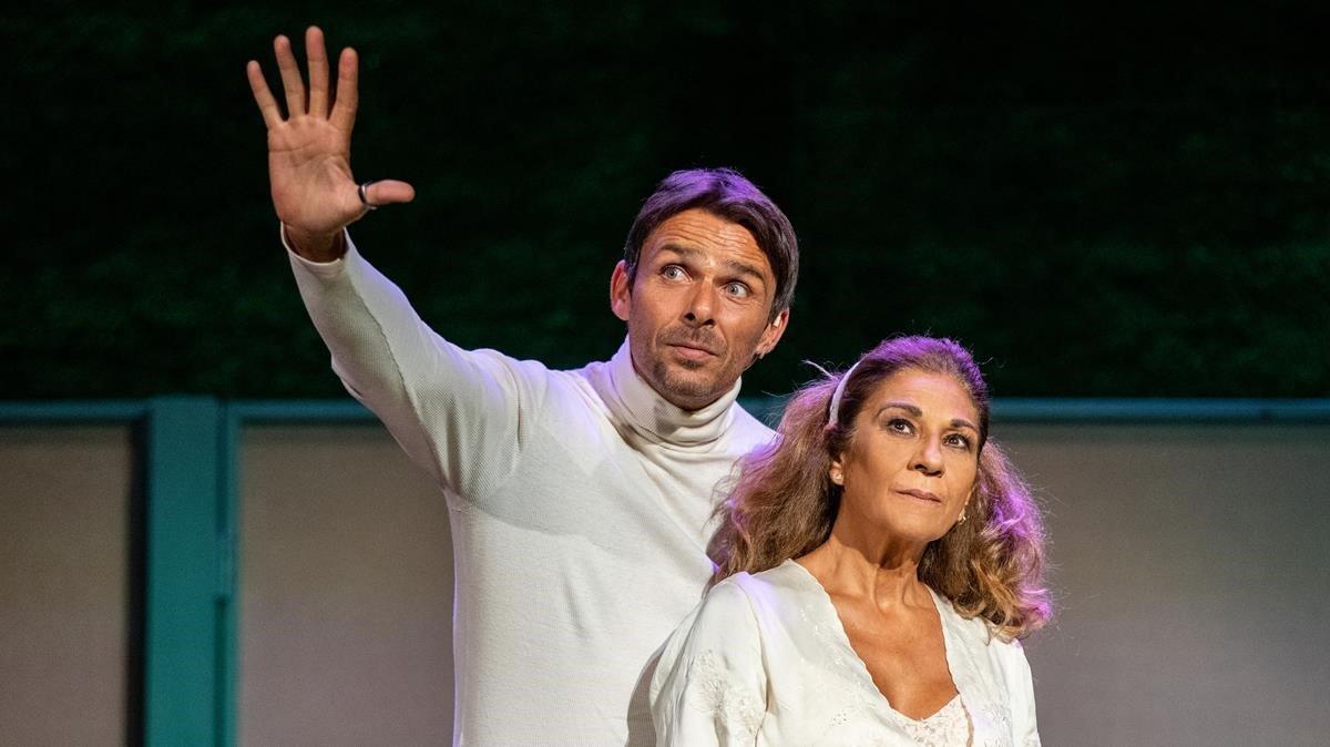 Lolita regresa al Teatro Goya como protagonista de'La fuerza del cariño'.