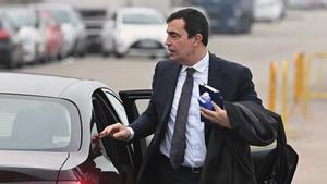 El exdirector de los Mossos, Pere Soler, en febrero del año pasado, en Madrid.