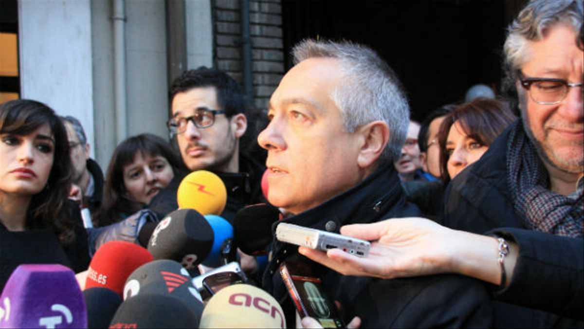 Declaraciones de Pere Navarro sobre los diputados