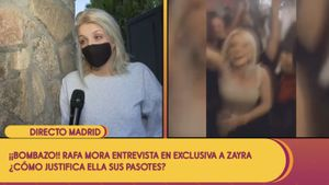 Zayra Gutiérrez entra en 'Sálvame'