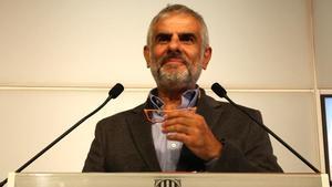 El líder de Cs en el Parlament, Carlos Carrizosa.