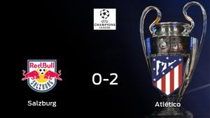 El Atlético de Madrid se queda con los tres puntos después de ganar 0-2 al FC Salzburg