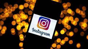 El logo de Instagram.