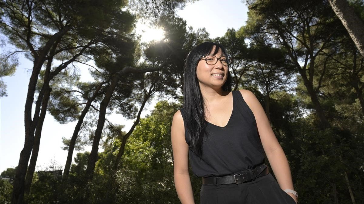 Thuy Nguyen desconecta en el bosque de los aspectos más duros de su trabajo.