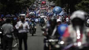 Protetas y bloqueos carreteros en Costa Rica.