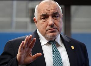 El primer ministro de Bulgaria, Boyko Borisov, a su llegada a al Consejo Europeo, este viernes.