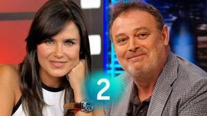Elena Sánchez y Pablo Carbonell, presentadores de 'Sánchez y Carbonell' en La 2.