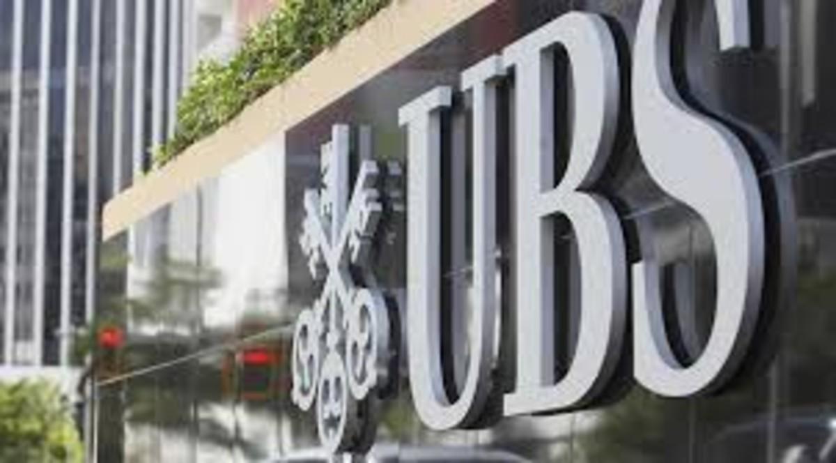 Anagrama del banco UBS.