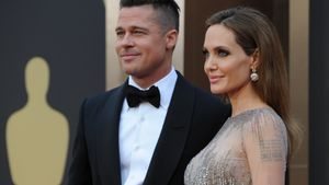 Brad Pitt y Angelina Jolie, en 2014.