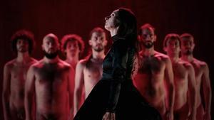 Momento del montaje de Angélica Liddell'The Scarlett Letter', en el Lliure.