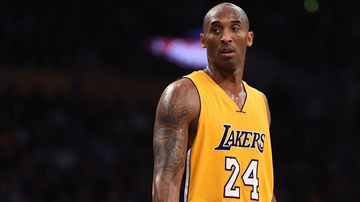 Kobe Bryant, en un partido con los Lakers.