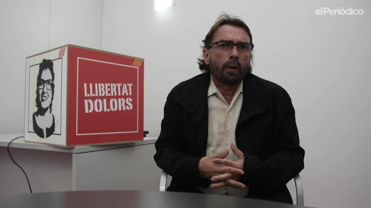 El secretario general de la UGT de Catalunya, Camil Ros en su despacho.