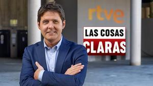 Jesús Cintora, presentador de 'Las cosas claras'.