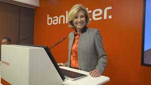 Maria Dolores Dancausa, Consejera Delegada de Bankinter.