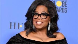 Oprah Winfrey, en la gala de los Globos de Oro en la que recibió el premio honoríco.