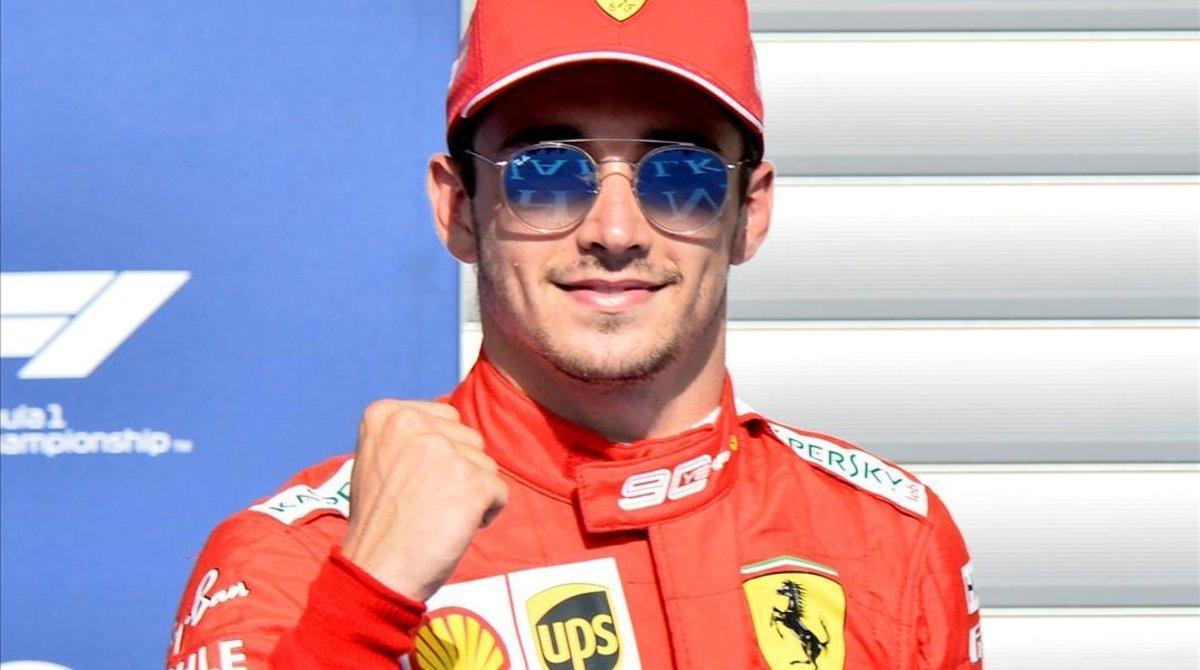 El monegasco Charles Leclerc (Ferrari) ha logrado hoy, en Spa, la 'pole' del Gran Premio de Bélgica.