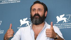 Albert Dupieux, este sábado en el Festival de Venecia.
