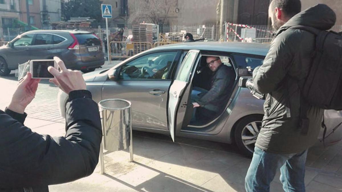 Vídeo del momento de la detencion de Joan Coma en Vic.