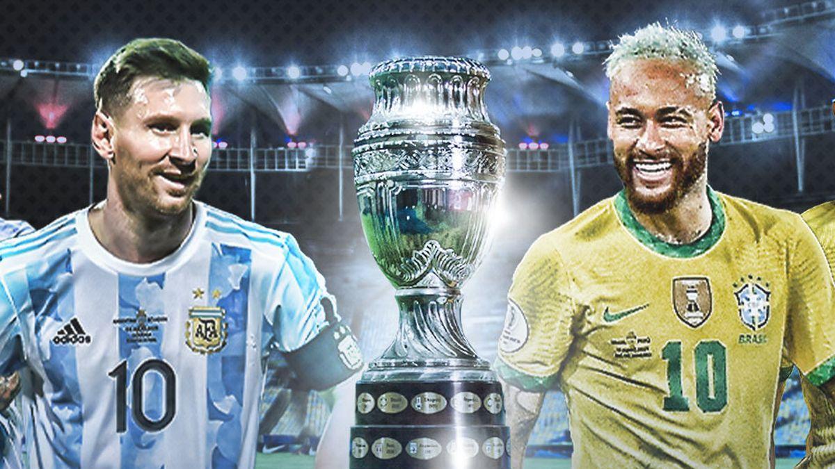 Messi y Neymar, en una imagen promocional de la final.