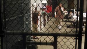 Presos de Guantánamo, en una imagen tomada en 2016.