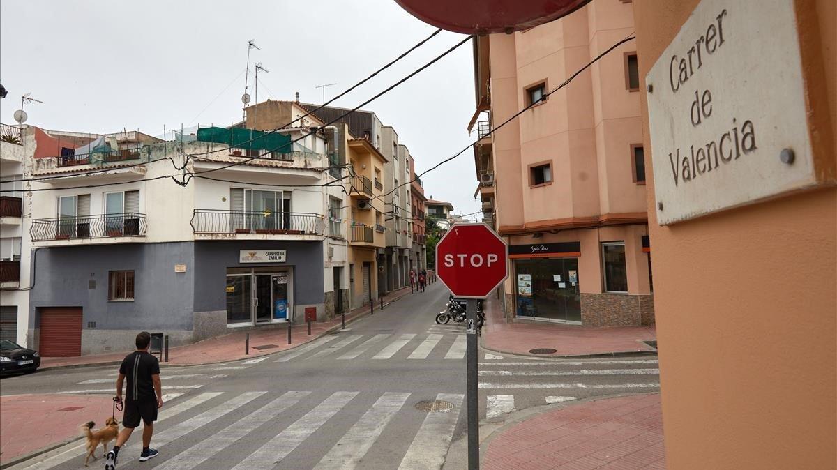 Detingut l'home que va llançar sosa càustica a una dona a Sant Feliu de Guíxols