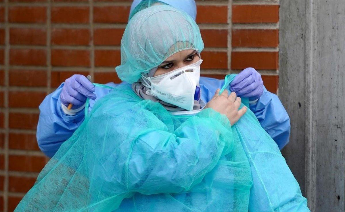 Coronavirus: Part d'Espanya arriba al pic de contagis