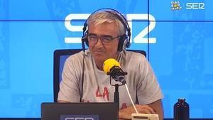 Carles Francino, el día de su regreso a la radio.
