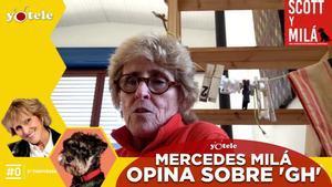 Mercedes Milá conversando con Ricky García.