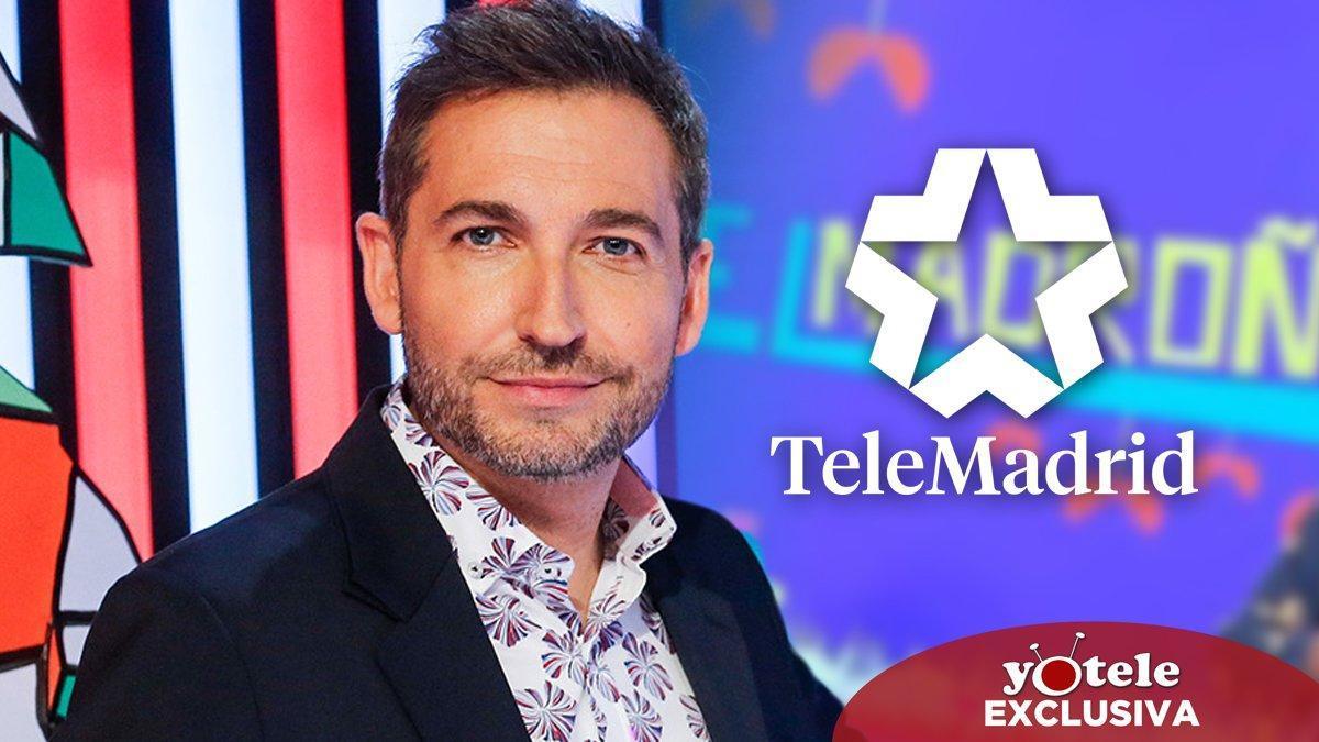Telemadrid ultima el fichaje de Frank Blanco para presentar el nuevo 'Madroño' con Carmen Alcayde