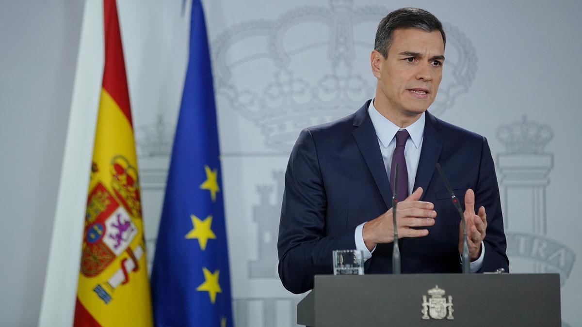 Pedro Sánchez anuncia que las elecciones generales serán el 28 de abril.