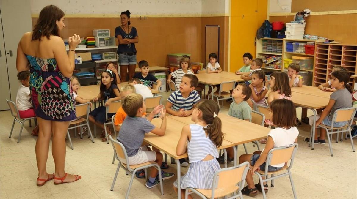 Inicio curso escolar Escola Bogatell