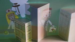 Els dibuixos de nens durant el confinament, en una exposició