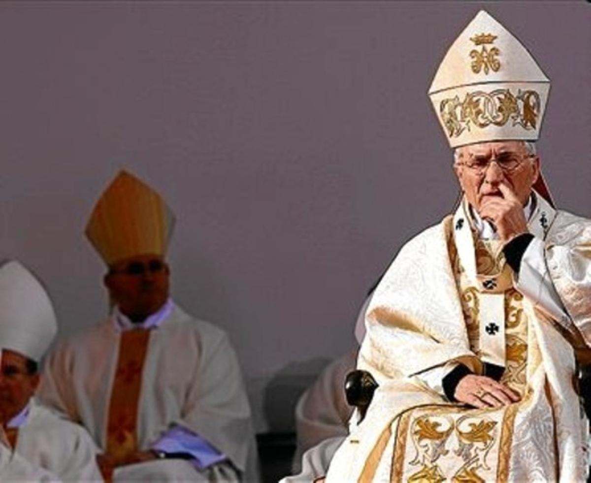 El presidente de la Conferencia Episcopal, Antonio Maria Rouco Varela.