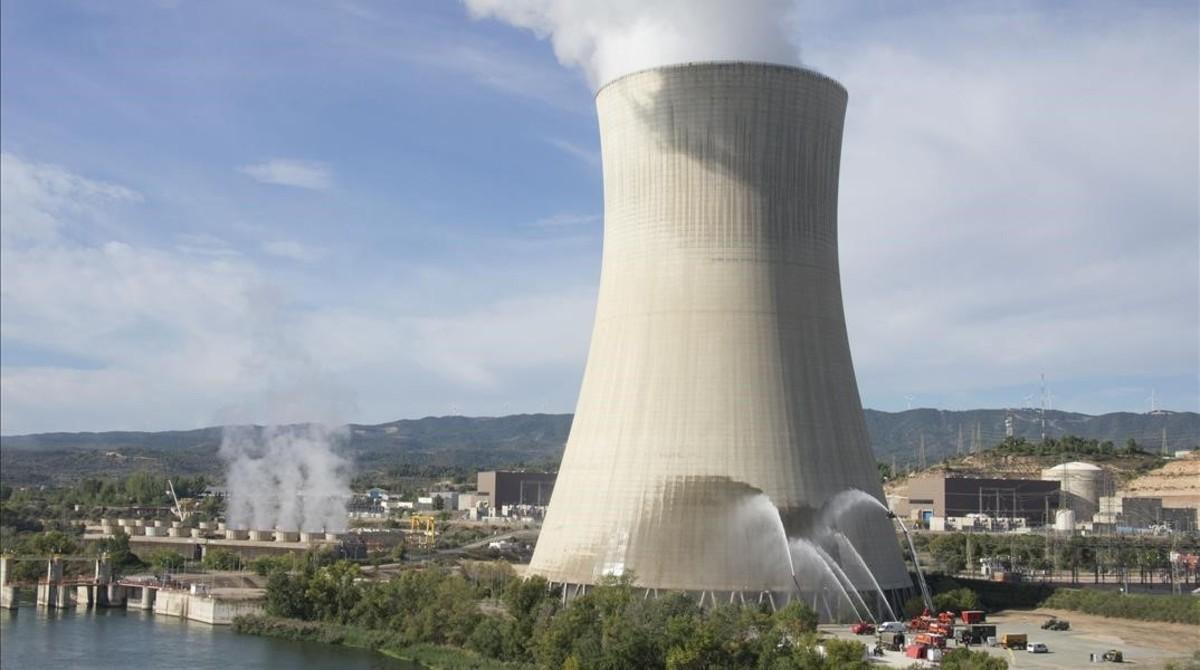 La central nuclear de Ascó I.