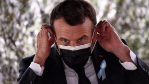 El presidente francés, Emmanuel Macron, el pasado mes de abril.