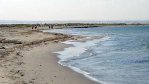 Playa de La Llana, en Murcia.