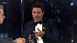 Raúl Pérez parodió a Antonio Banderas.