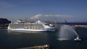 Un crucero de Royal Caribbean.