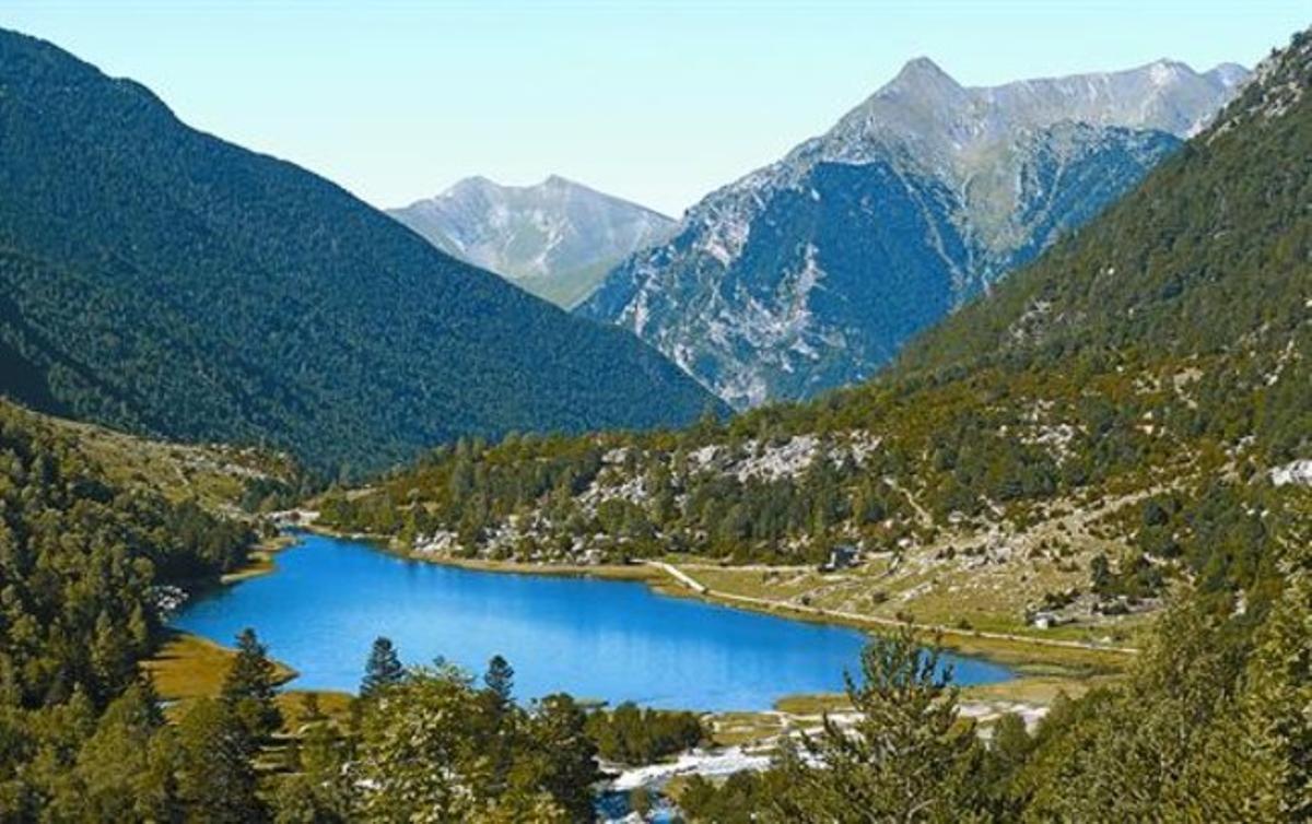 Estany de la Llebreta, en el parque de Aigüestortes, uno de los lagos analizados en el estudio.
