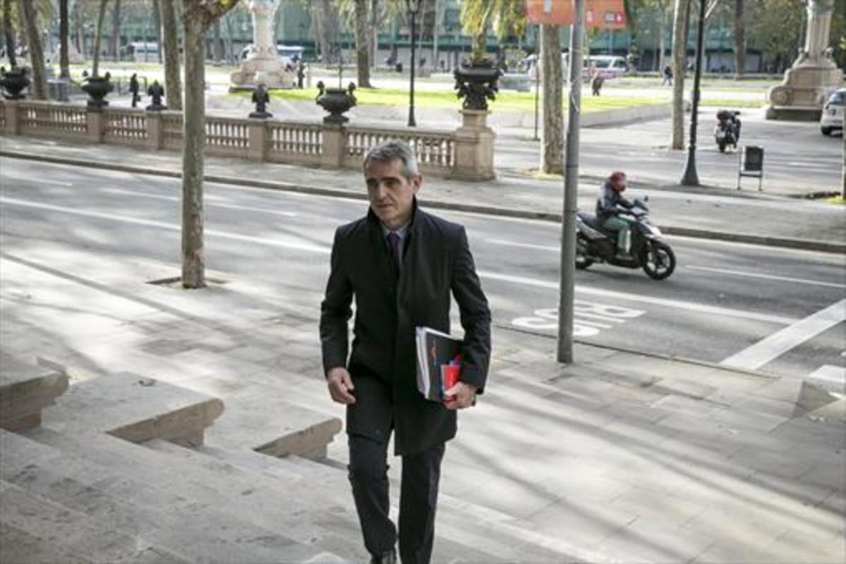 El letrado del Parlament Antoni Bayona.