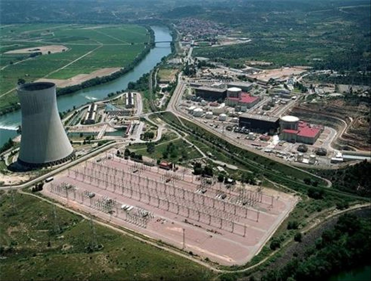 La central de Ascó (Tarragona).