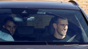Bale, con Reguilón, detrás, este viernes en Londres.