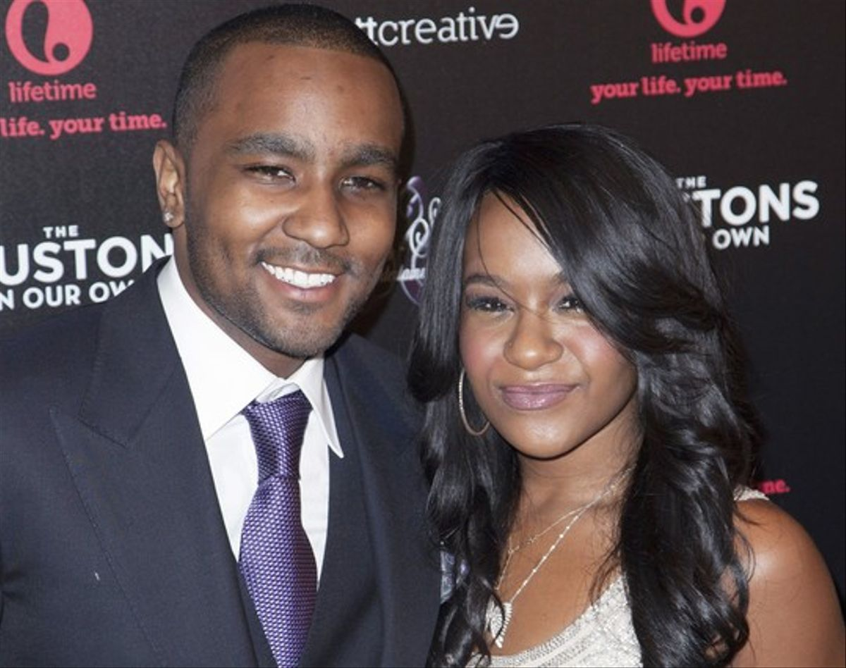 Nick Gordon y Bobbi Kristina Brown, en una foto de archivo.