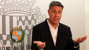 El alcalde de Badalona, Xavier Garcia Albiol.