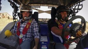 Quim Masferrer (izquierda), en el programa de TV-3 'El foraster'.