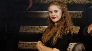 La actriz Elisabet Casanovas, que interpreta a Tània en la serie 'Merlí'.